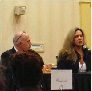 Suppler Panelists (Sam Aris and Nancy Vilet-Cucco)