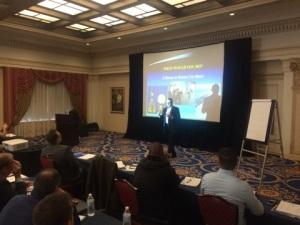 MILSPRAY CEO & President, Brian Feser Presenting