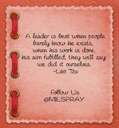 Mid Week Motivational Wednesday Are You A Leader Milspray