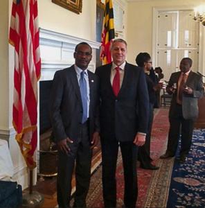Dr. Sylvester Okere (MILSPRAY's Senior Advisor to Africa) and Brian Feser (MILSPRAY's CEO & President)