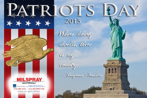 Patriots Day Graphic