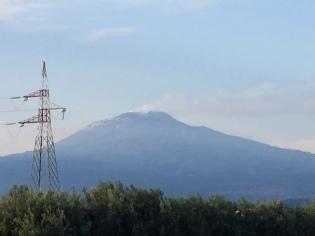 Active Volcano in Italy
