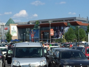 Romanian Shopping Mall
