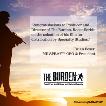Brian Feser, MILSPRAY's CEO & President