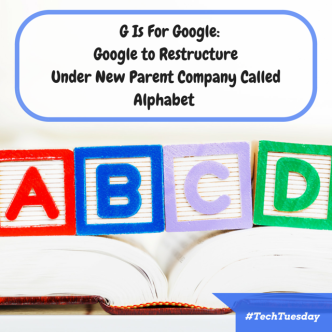 G is For Google- Google is Revamping Under