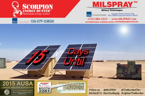 AUSA 15 Days Until Scorpion Energy Hunter