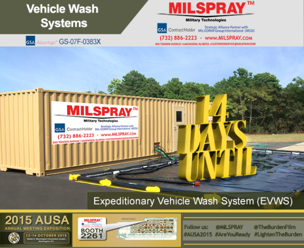 Day 14 Vehicle Wash System AUSA