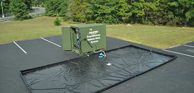 Expeditionary Vehicle Wash System