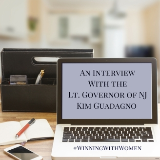 An Interview With the Lt. Governor of NJKim Guadagno