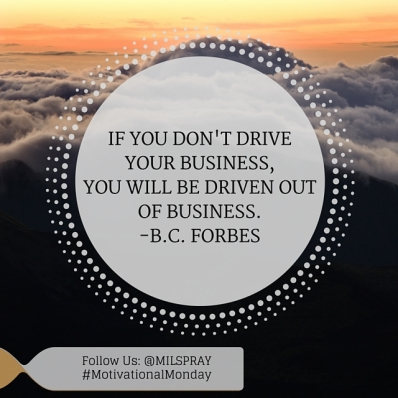 IF YOU DON'T DRIVE YOUR BUSINESS, (1)