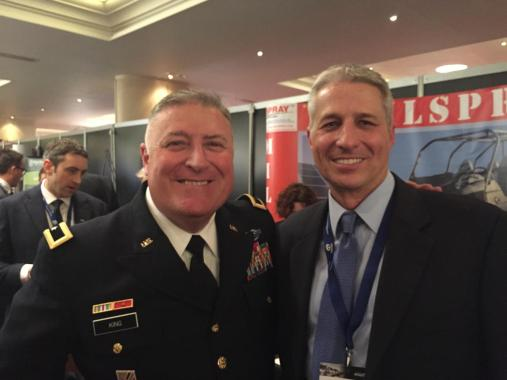 Brian Feser BG Army National Guard IAV