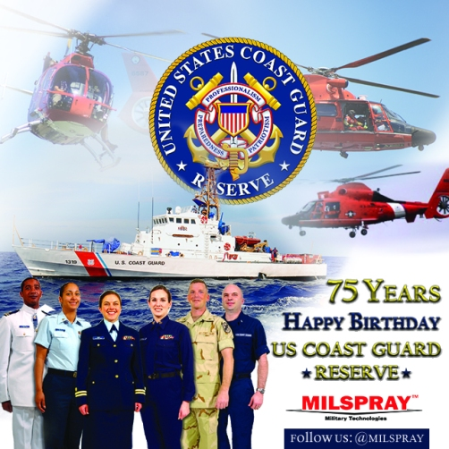 Coast Guard Reserve Birthday 75 Years