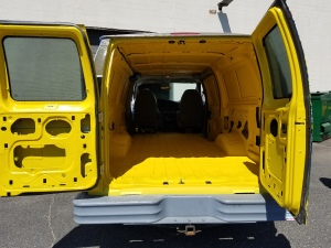 Tough Coat Van Inside