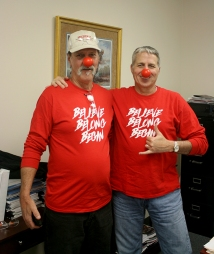 Brian and Rand Red Nose Day