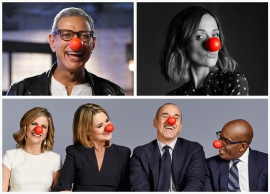 Red Nose day Celebs