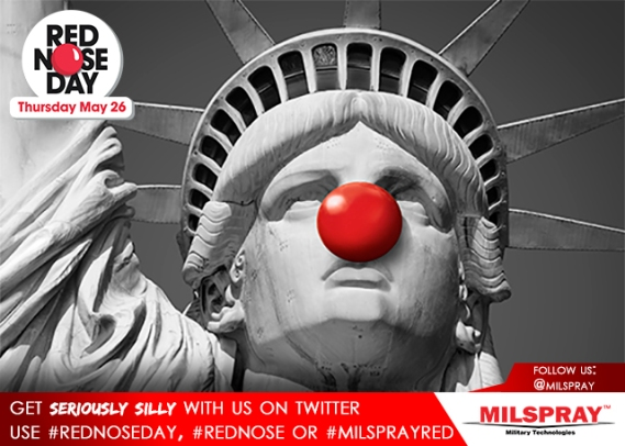 Statue of Liberty Red Nose day 1