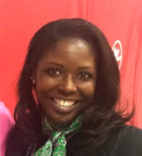 Ebony head in public