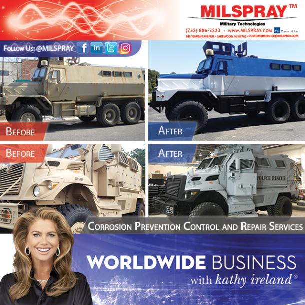 Kathy Ireland MRAP