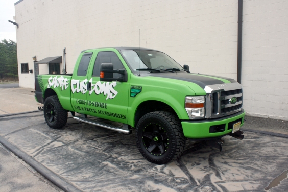 Tough Coat™ applied to Shore Customs' F-250 SUPERDUTY XLT