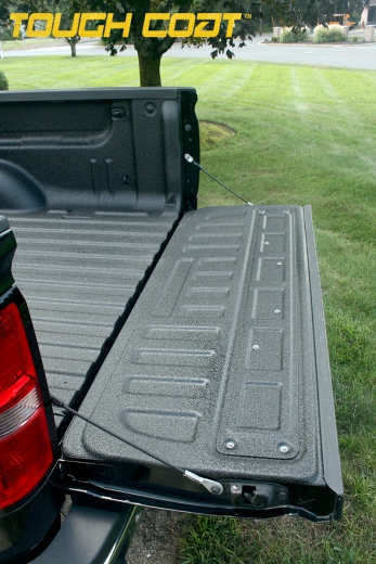After Tough Coat on GMC Sierra Bed Liner