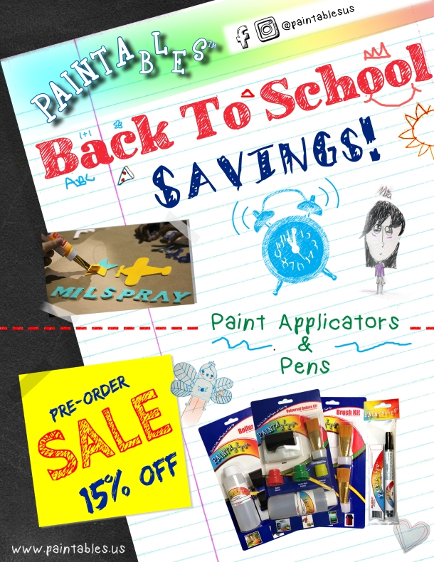 Back To School Savings!
