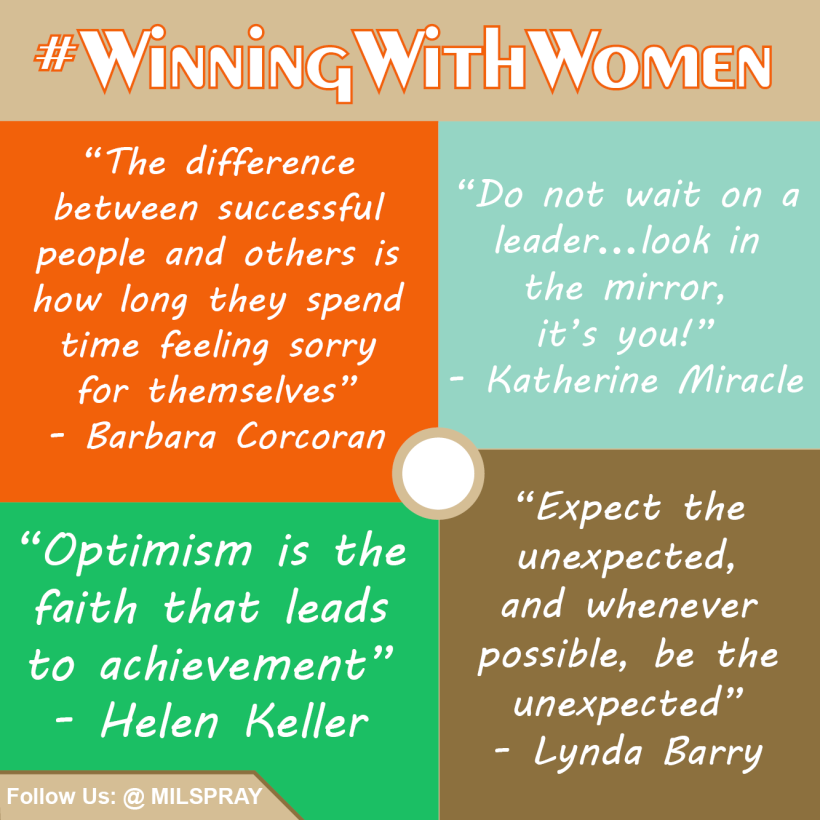 Winning With Women Wednesday 4 Motivational Quotes To Conquer The Rest Of Your Work Week Milspray