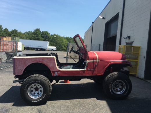 Before Tough Coat- 1981 Jeep