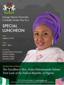 First Lady of The Federal Republic Of Nigeria Mrs Aisha Muhammadu Buhari (10)