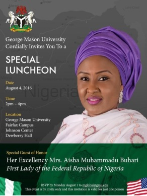 First Lady of The Federal Republic Of Nigeria Mrs Aisha Muhammadu Buhari (10)
