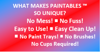 Benefits of PAINTABLES™