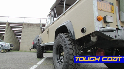 Tough Coat™ Tuesday! 1983 Range Rover Defender Attends Swap Meet At