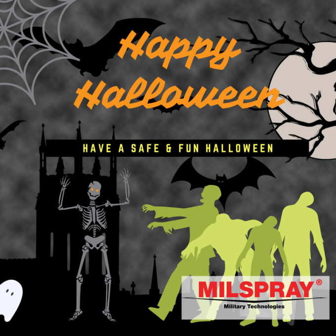 Happy Halloween From MILSPRAY®