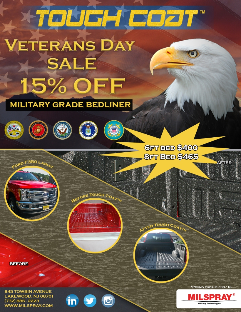 Veterans Day Sale Promo