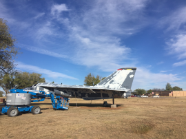 Static Display - Before | Cannon Air Force Base