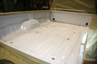 Ford® F250 Tough Coat Bed Liner - Before