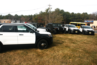 Ford® Explorer Ballistic Resistant HUMVEE Voorhees Police Department