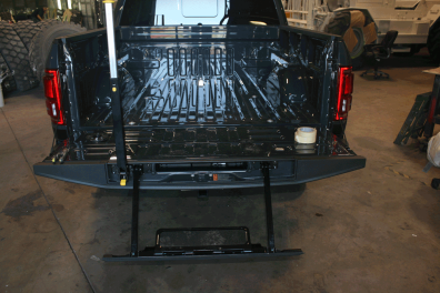 Ford® F150 Tough Coat Bed liner - Before