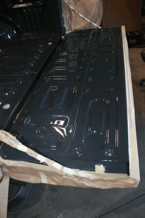 Ford® F150 Tough Coat Powder Coating - Before