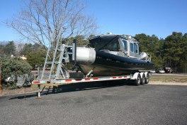 Brick Police Rescue Boat