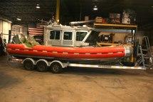 Brick Police Rescue Boat (Before)