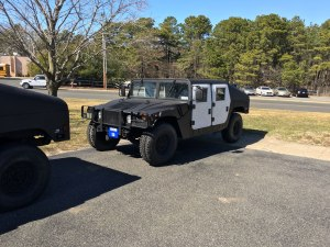 Brick Township Police Department HUMVEE HMMWV