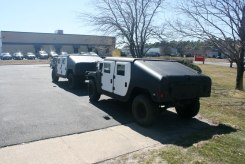 Brick Township Police Department HUMVEE HMMWV