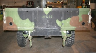 Light Tactical Trailer - Before