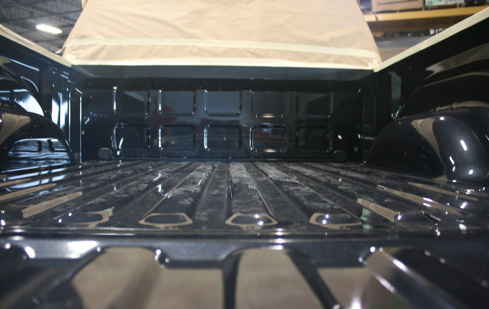 Bedliner Tough Coat (before)