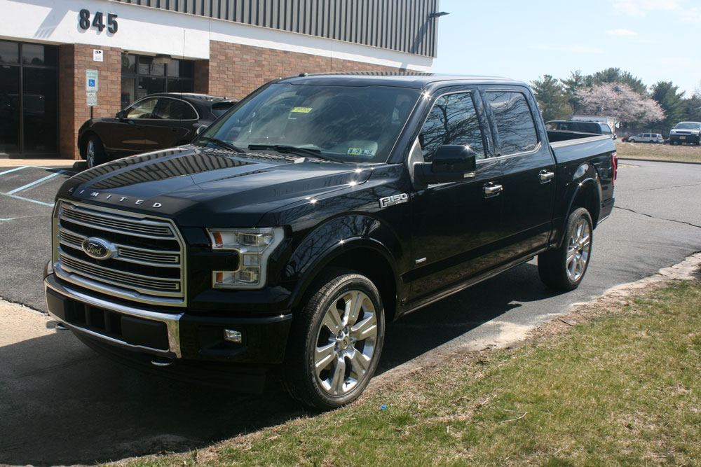 tough coat tuesday ford f150 limited bed liner milspray. Black Bedroom Furniture Sets. Home Design Ideas