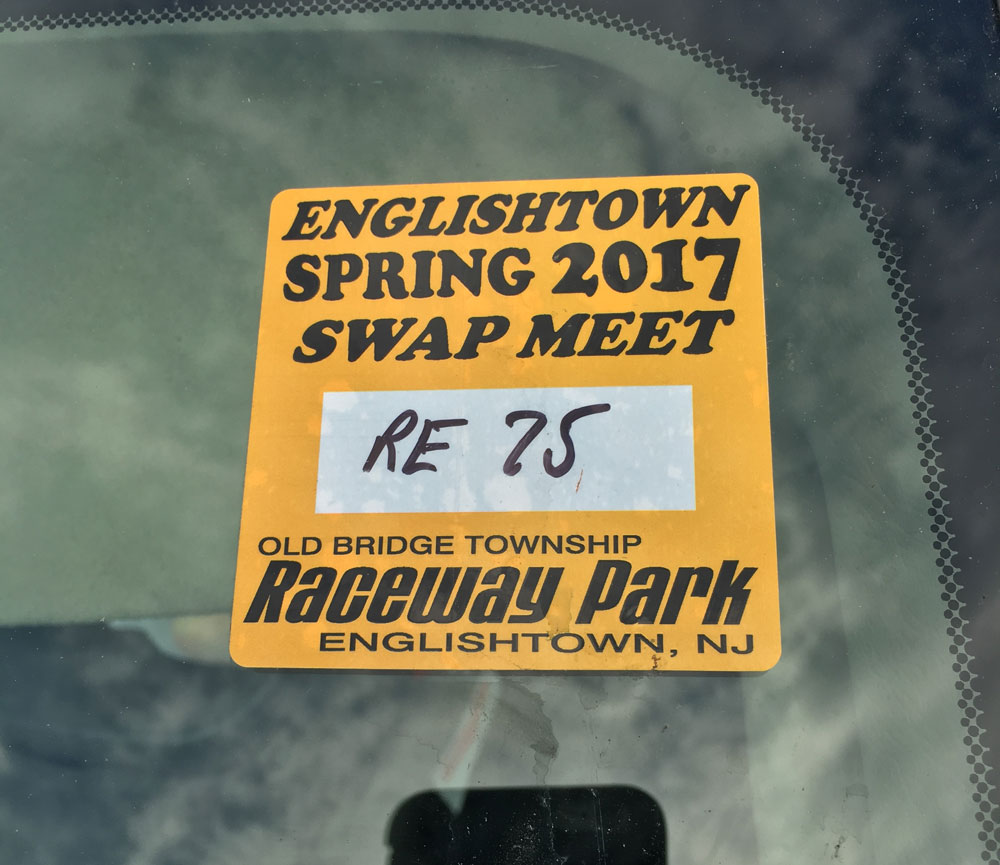 Englishtown Swap Meet