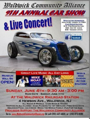 Waldwick Community Alliance Car Show
