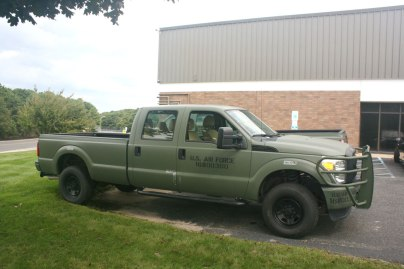 Air Force Pick-Up Truck (Before)