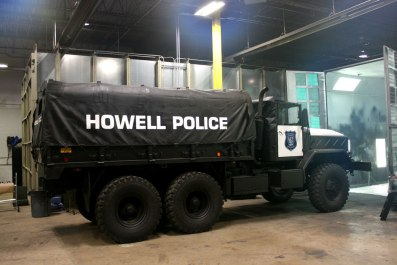 Howell Police 5 Ton Vehicle