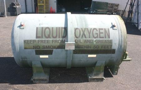 Liquid Oxygen Tank Lakehurst